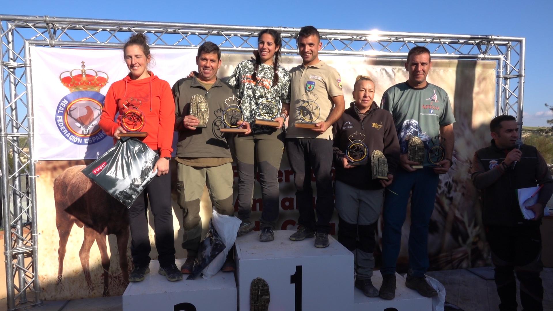Campeonato de España de caza meor con Perro, Osuna (Sevilla) 2019