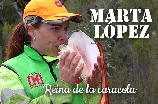Cazadoras II: Marta López, Reina de la caracola